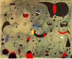 'Nocturno', öl von Joan Miro (1893-1983, Spain)