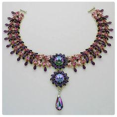 PROVENCE LAVENDER XILION New 25 Perles Toupies 4mm cristal Swarovski