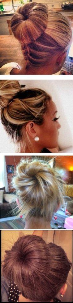 11 Interesting And Easy #Hair #Bun Ideas http://interestingfor.me/hair-bun-ideas/
