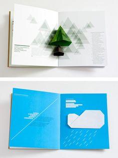 pop up effect in sales brochure - Google Search