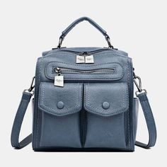 Women Casual Solid Crossbody Bag Backpack As low as $72.00