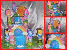 las ponys girlss cake