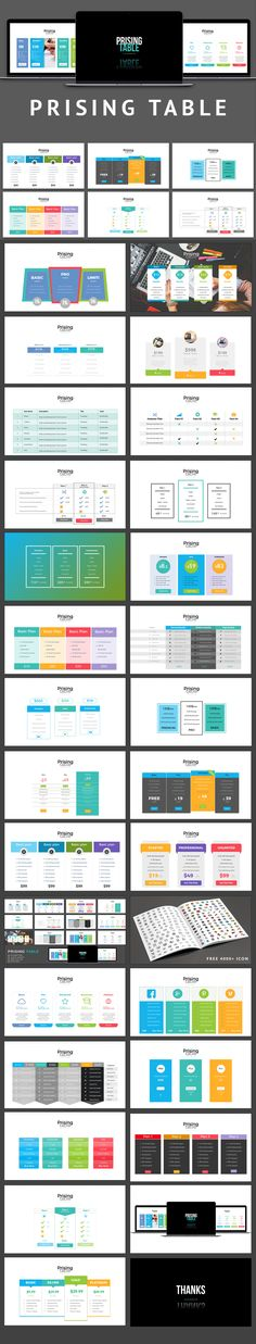 121 best business powerpoint templates images on pinterest in 2018 pricing table powerpoint presentation template flashek Images