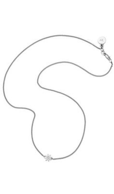 Karen Walker superfine daisy necklace