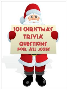 101 Christmas Trivia Questions