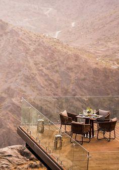Anantara Al Jabal Al Akhdar Resort, Oman.