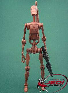 Star Wars Action Figure Battle Droid (2010 Set #2), Star Wars The Legacy Collection