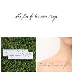 Bohemia - Temporary Tattoo (Set of 2)