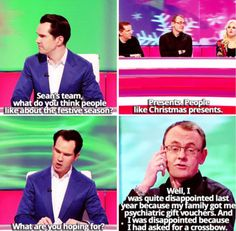 When he didn't get what he wanted for Christmas. 19 Times Sean Lock Took Absurdism To New Levels British Humor, British Comedy, Sean Lock, 8 Out Of 10 Cats, Are You Not Entertained, I Love To Laugh, He Wants, Laughing So Hard, Man Humor