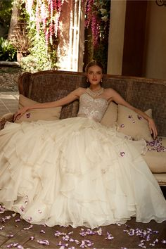 Maelin Corset and Priya Skirt in Bride Wedding Dresses Ball Gown at BHLDN