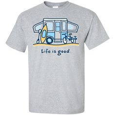 9ef3fb845a8e7 Camping t-shirt Creative Gifts
