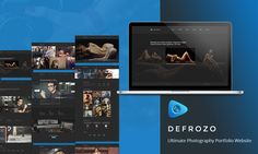 defrozo-photography-portfolio-website-template-featured