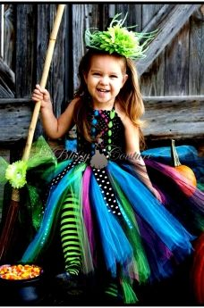 Witch Tutu Pageant Dress Costume - BlissyCouture.com