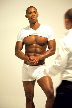 I ran into him at the mall once singing autographs for free. I put my hand around his abs. YES