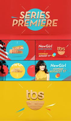 We designed and animated a series of colorfully irreverent promo spots for the freshly syndicated TV hit for TBS, New Girl.