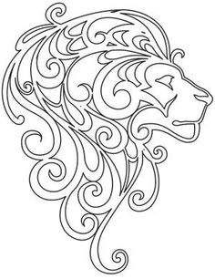 This is an embroidery image and CANNOT be printed (copyright).  Mane Attraction_image