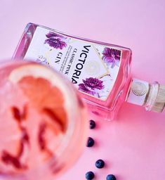 """Victoria Gin on Instagram: """"Victoria Pink bursts with a bouquet of African and traditional botanicals, juniper, fresh citrus and nuances of rose. Best served over…"""" Gin, Perfume Bottles, Alcohol, Bouquet, African, Victoria, Fresh, Traditional, How To Make"""