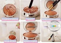 Funny pictures about To The Girl With The Broken Makeup. Oh, and cool pics about To The Girl With The Broken Makeup. Also, To The Girl With The Broken Makeup photos. All Things Beauty, Beauty Make Up, Hair Beauty, Mascara, Eyeliner, Fixing Broken Powder, Maquillage Normal, Concealer, Fix Broken Makeup