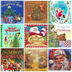 Favorite Children's Christmas Books & Puzzles