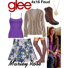 """Marley Rose (Glee) : 4x16"" by aure26 on Polyvore"