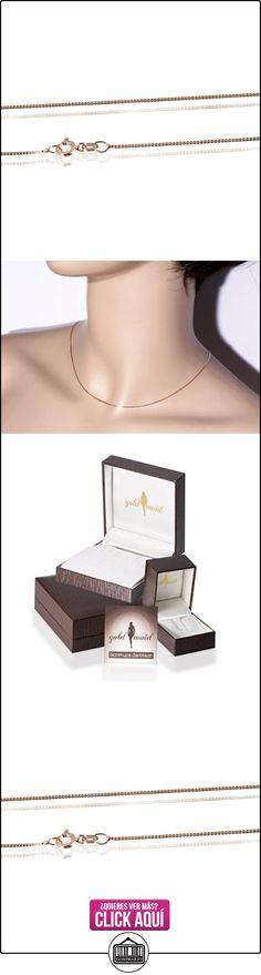 Goldmaid Collar de Unisex de oro rosa 45cm  ✿ Joyas para mujer - Las mejores ofertas ✿ ▬► Ver oferta: https://comprar.io/goto/B00IMU5P3W