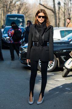 Street style a la Fashion Week automne-hiver 2018-2019 de Paris 178