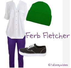 Ferb :) disney outfits :)