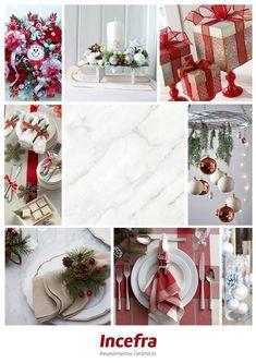 O Natal está se aproximando e separamos para vocês algumas dicas de combinações para decorar a sua casa. Ref. PPI55220R | 55x55cm | Polido