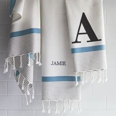 West Elm offers modern furniture and home decor featuring inspiring designs and colors. Create a stylish space with home accessories from West Elm. Monogram Towels, Trailer Decor, Studio Living, Bathroom Kids, Bathrooms, Laundry Hamper, Turkish Towels, West Elm, Interior Design Inspiration