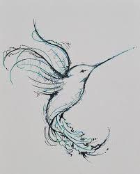 Image result for tatuagem beija flor