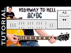 Highway To Hell Guitar Lesson WITH TABS - YouTube