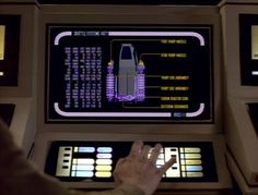 Star Trek Prop, Costume & Auction Authority: Star Trek: The Next Generation LCARS Control Panels and Displays