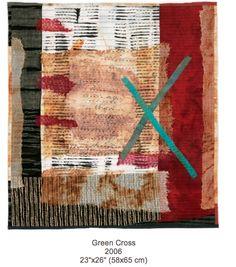 Green Cross by Jette Clover