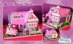 minnie mouse house cake - Buscar con Google