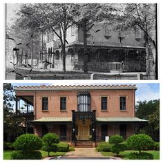 Green Meldrim House which served as General Sherman's headquarters while occupying Savannah. Today, visitors can tour this historic landmark.