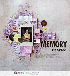 Riikka Kovasin - Paperiliitin: Memory of a licorice - Prima Marketing