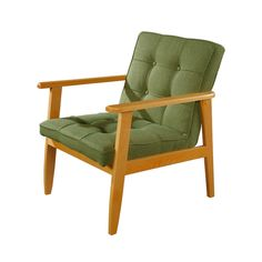 Betty Lounge Chair in Green - Dot & Bo