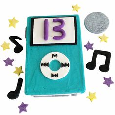 DISCO DIY CAKE KIT $53.95 - Our awesome DIY Cake kit comes with everything you need to bake and decorate this super cool music cake.