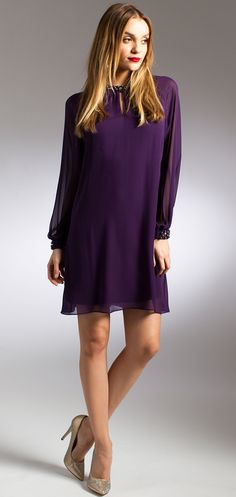 Purple Long Sleeve S