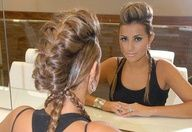 love this braid mohawk, plus you don't have to shave the side of your head