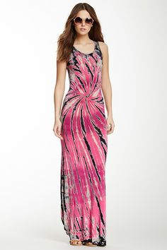 Go Couture Tie-Dye Maxi Dress by Go Couture on @HauteLook