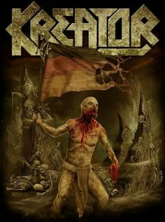 Kreator - death to the world T-Shirt Design