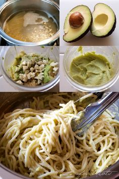 creamy 15 minute (vegan) avocado pasta