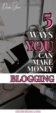 Learn exactly how to make money blogging.  New to blogging? This will tell you how you can make money by starting one.  Blogging for awhile? This will teach you exactly how to make money with your blog.  #blog #blogging #makemoney