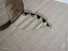 Картина панно рисунок Бумагопластика Панно из картона Картон фото 6