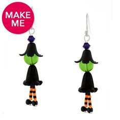 These CUTE Witchy Ways earrings are the perfect conversation piece for all of your Halloween parties/events.