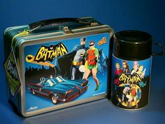 Batman '66 Lunch Box and Thermos