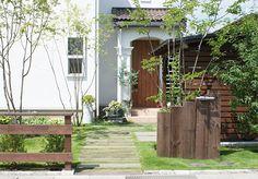 エクステリア、外構、庭づくり施工例1|株式会社ガーデンファクトリー