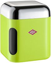 Wesco Square Canister with Window - Lime Green