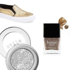 Rank & Style | Top Ten Fashion and Beauty Lists - Ten Metallic Must-Haves  http://www.rankandstyle.com/top-10-list/best-metallic-musts/ #rankandstyle